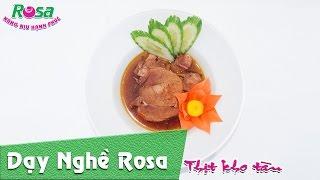 Cách nấu món Thịt Kho Trứng cho ngày tết cổ truyền - Vietnamese braised pork with eggs