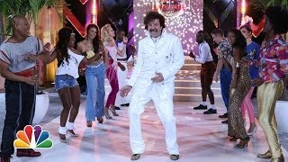 """Dance Avenue"" '80s Dance Line With Jimmy Fallon & The Roots"