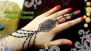 Beautiful Henna Mehndi Jewellery : Henna tutorial for beginners videos bapse