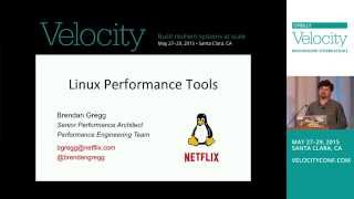 Linux Performance Tools, Brendan Gregg, part 1 of 2