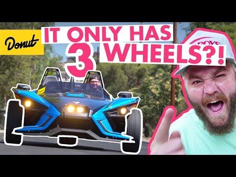 Polaris Slingshot: Three Wheel Fun! | The New Car Show_Autós videók