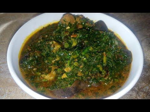 How to Prepare Edikan ikong Soup (Vegetable Soup) (видео)
