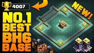 Clash of Clans Builder Base New Update / Best BH6 Base [Anti 2 Star Builder Hall 6 Base]. Base done after CoC Night Witch ...