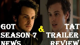 """Game of Thrones Season 7 News + Time After Time Review NO COPYRIGHT INFRINGEMENT INTENDED. """"Time After Time""""..."""
