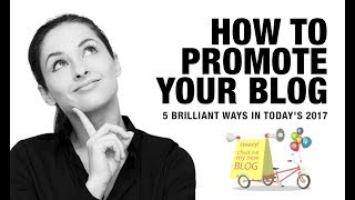 """5 Brilliant Ways to Promote Your Next Blog Post For Free in 2017https://www.digitalmarketingforfree.com/5-brilliant-ways-promote-next-blog-post5 Brilliant Ways to Promote Your Next Blog Post For Free in 2017When I started researching the topic of """"how to promote your blog"""", I just wasn't finding a whole lot of ideas coupled with the real how-to, actionable advice that would really help me find the best blog promotion tactics for the promotion purpose.So, I decided to share my personal research with you to help you promote your blog better than ever.Resources mentioned in the above video are:Instagram Account mentioned: https://www.instagram.com/iphonepreneur/How to repurpose your content in 2017:https://youtu.be/Dhz9Ypv7SNQLearn Digital Marketing 100% Free Guide:https://goo.gl/oIQkAlSubscribe to my channel & Turn on that bell for notifications so that you don't miss out on any single post:http://digitalpratik.com/youtube5 Brilliant Ways to Promote Your Next Blog Post For Free in 2017https://youtu.be/FJZbiushD7Q"""