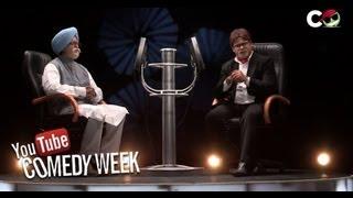 Video Big B with PM - Kaun Banega Roadpati Season 1- Comedy One MP3, 3GP, MP4, WEBM, AVI, FLV Februari 2018