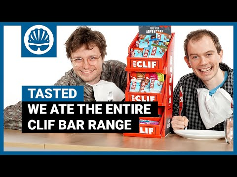 We Ate 26 Energy Products In One Sitting & Survived   Clif Bar Tasted & Rated