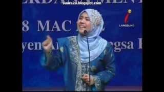 Fathiah Ibrahim (Malaysia) Pertandingan Pidato Antarabangsa Bahasa Melayu Piala Perdana Menteri 2012 Tajuk : Keluarga Bahagia Masyarakat Sejahtera ...