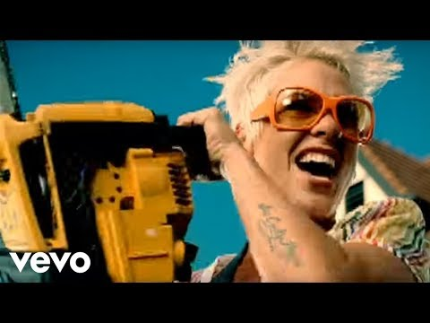 so - Music video by P!nk performing So What. YouTube view counts pre-VEVO: 952031 (C) 2008 LaFace Records, LLC.
