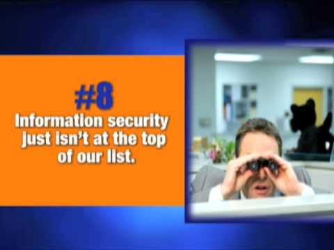 Video #8 Information Security