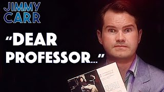 Video Jimmy's Letter To Stephen Hawking   Jimmy Carr Live MP3, 3GP, MP4, WEBM, AVI, FLV Agustus 2019