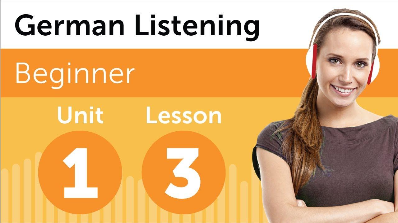 German Listening Practice – Getting Some Groceries in Germany