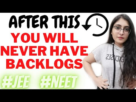 HOW TO COVER BACKLOGS ? How to NEVER have Backlogs 🔥 ISHITA KHURANA