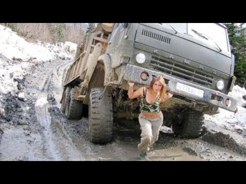 Most Dangerous Idiots Fastest Truck Heavy Equipment Processing Machines Drivers Compilation Working