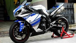 3. Yamaha R1 2011 TITANIUM Leo Vince SBK Low RPM