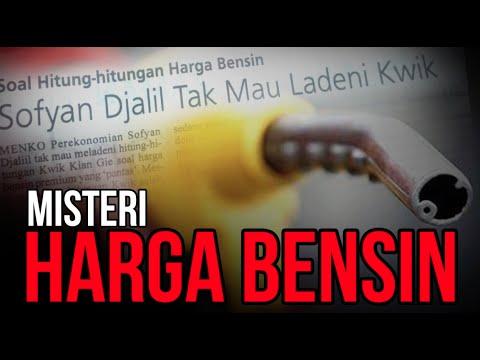Misteri Harga Bensin