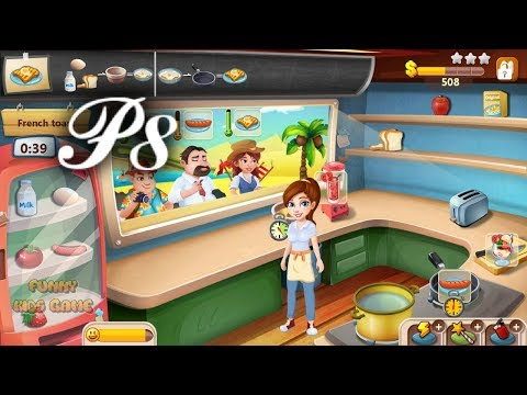 Rising Super Chef (1) Cooking Game 8 - Round 25 To 27 - Video For Kids