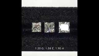 Nonton Loose Princess Cut Diamonds  1 20 1 90 G E H Color Comparison Film Subtitle Indonesia Streaming Movie Download
