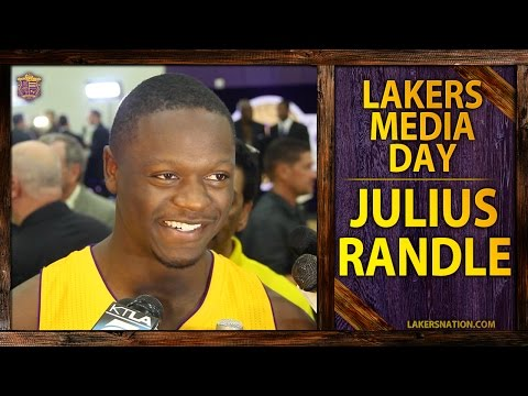 talks - At 2014 Los Angeles Lakers media day, Julius Randle talks about the relationship he's forged with Carlos Boozer and scrimmaging alongside Kobe Bryant. Join the Largest Lakers Fan Site in the...