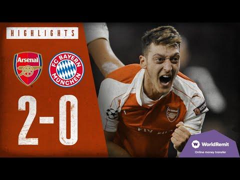Arsenal 2-0 Bayern Munich | Arsenal Classics | Champions League highlights | 2015