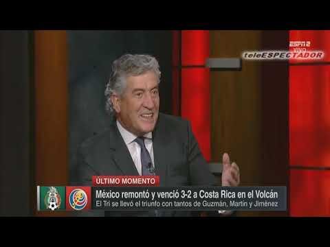 Analisis del MEXICO vs COSTA RICA - Juego Amistoso -  Futbol Picante (1/3)