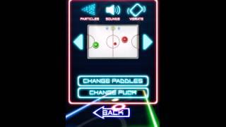 Glow Hockey 2 videosu