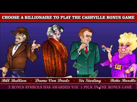 Cashville slot game [GoWild Casino]