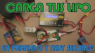 Video Cómo cargar baterías LIPO correctamente y en paralelo! | Para Principiantes MP3, 3GP, MP4, WEBM, AVI, FLV September 2019