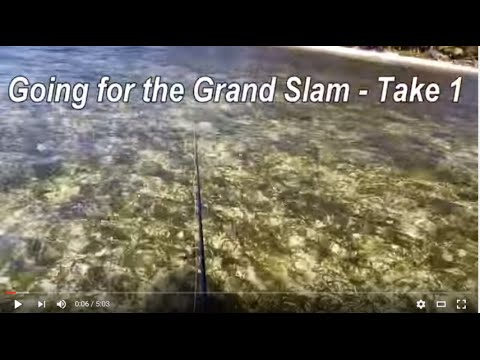First try for a grand slam