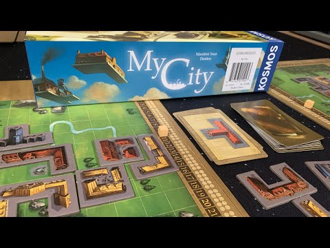 DGA Plays Board Games: My City (Spoilers: 2 of 24 Legacy Episodes Played)