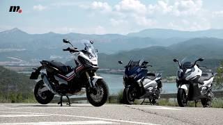 9. BMW C650 Sport/Honda X-ADV/ Yamaha TMAX DX | Comparativo / Test / Review en español | motos.net