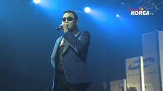 [Arirang Korea TV] Galaxy Note II Launch Party with Psy Pt. II