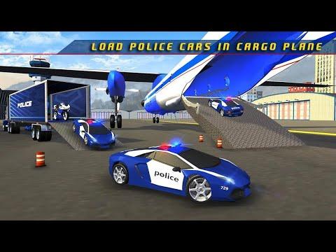 Xe ô tô Cảnh Sát và xe Máy cảnh sát có cả Máy Bay - xe oto canh sat do choi - Car police