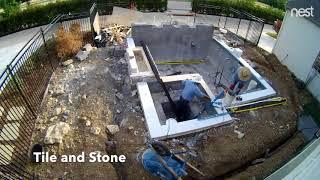 Video swimming pool construction time lapse MP3, 3GP, MP4, WEBM, AVI, FLV Agustus 2019