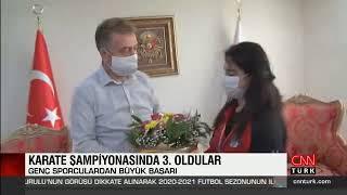 Türkiye 3. Sü Gaziosmanpaşalı Karateciler Başkan Usta'yı Ziyaret Etti - Cnn Türk