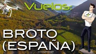 Broto Spain  City pictures : Grandes Vuelos: Broto (España) / Great Flights: Broto (Spain)