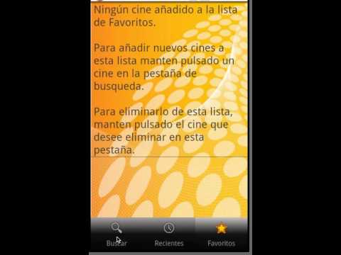 Video of CarteleraApp