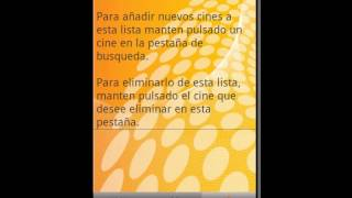 Video de Youtube de CarteleraApp Cine