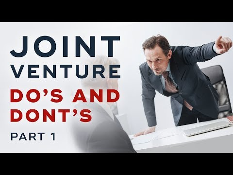 Do's and Don'ts When Approaching A Possible Joint Venture Partner - Joint Venture Marketing Ep. 11