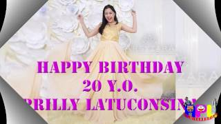 Video Happy Birthday 20th Prilly Latuconsina MP3, 3GP, MP4, WEBM, AVI, FLV Februari 2019