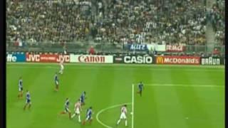 WM 1998: Lilian Thuram Spiel gegen Kroatien