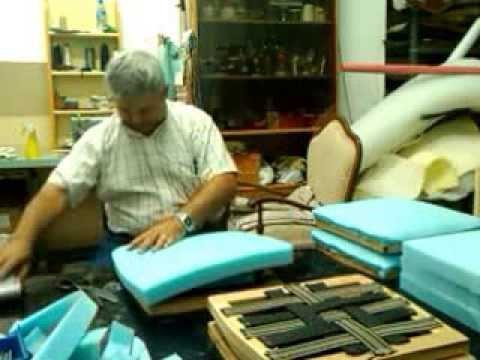 Goma espuma para tapizar videos videos relacionados - Espuma para tapizar sillas ...
