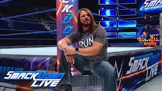 Nonton AJ Styles gets candid about his match with Samoa Joe: SmackDown LIVE, Sept. 11, 2018 Film Subtitle Indonesia Streaming Movie Download
