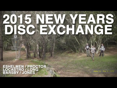 PHP #5 – New Years Disc Exchange, 2015 (Proctor, Eshelman, Locastro, Long, Barsby, Jones)