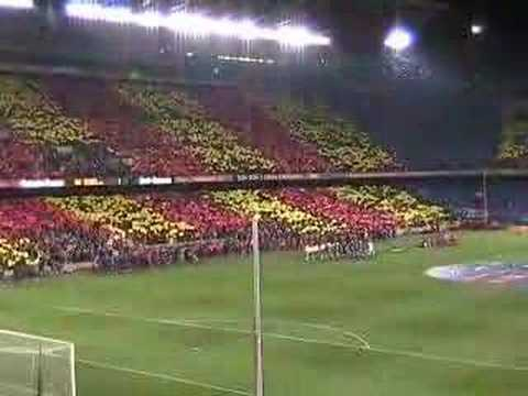 Barcelona vs Real Madrid 2007 Camp Nou