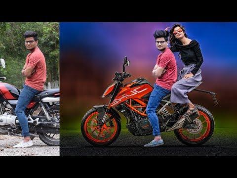 Add KTM Bike and Sexy Girl Photoshop Manipulation and CB editing Tutorial_A héten feltöltött legjobb csajos videók