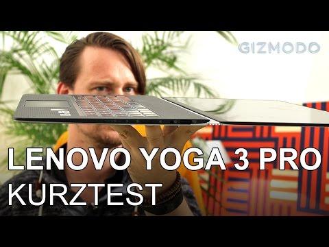 Lenovo Yoga 3 Pro im ersten Test