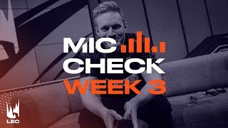 LEC Mic Check: Week 3 | Summer Split 2019 by League of Legends Esports