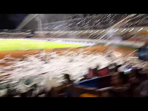 Recibimiento Saprissa vs Boca Juniors. - Ultra Morada - Saprissa