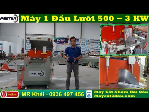 Máy Cắt Nhôm 2 Đầu F99 Full Opition Sự Lựa Chọn Số 1 Việt Nam